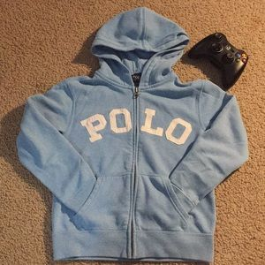 ✨2/50✨POLO hoodie with zipper for boys.